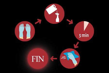 formation protocole de désinfection covid